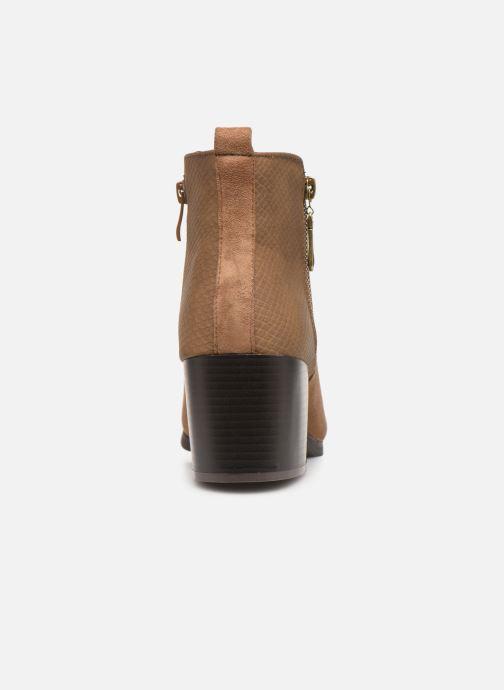 Bottines et boots Initiale Paris Ravazi Marron vue droite