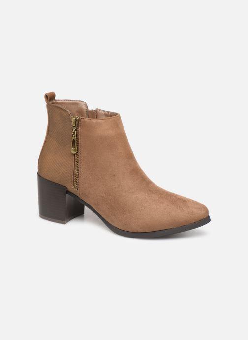 Bottines et boots Initiale Paris Ravazi Marron vue détail/paire