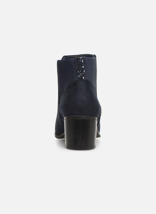 Bottines et boots Initiale Paris Replay Bleu vue droite
