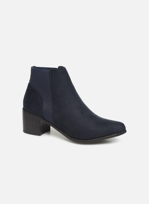 Ankelstøvler Initiale Paris Replay Blå detaljeret billede af skoene