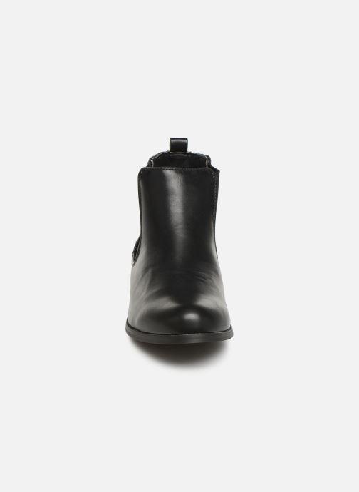 Bottines et boots Initiale Paris Resola Noir vue portées chaussures