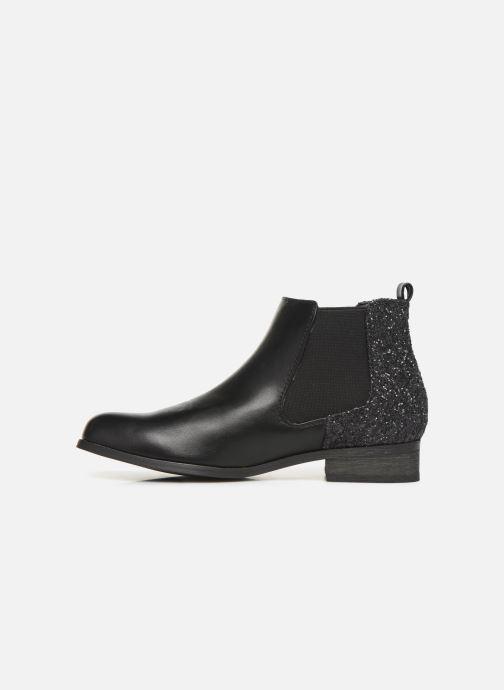 Bottines et boots Initiale Paris Resola Noir vue face
