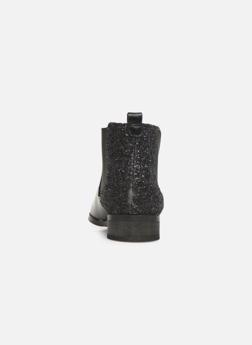 Bottines et boots Initiale Paris Resola Noir vue droite