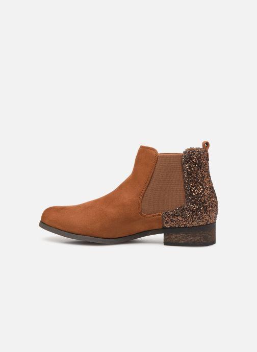 Boots en enkellaarsjes Initiale Paris Resolu Bruin voorkant