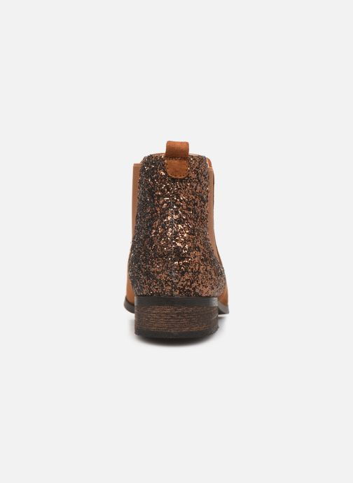 Bottines et boots Initiale Paris Resolu Marron vue droite