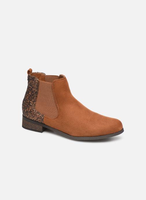 Boots en enkellaarsjes Initiale Paris Resolu Bruin detail