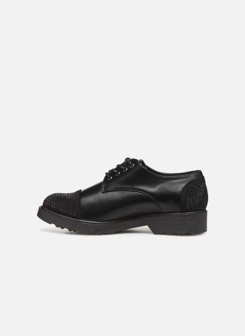 Chaussures à lacets Initiale Paris Reuni Noir vue face