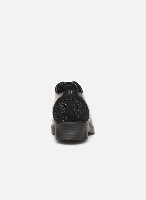 Chaussures à lacets Initiale Paris Reuni Noir vue droite