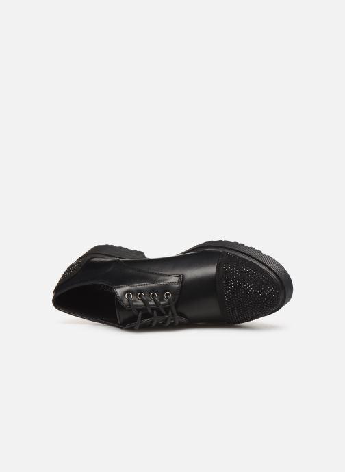 Chaussures à lacets Initiale Paris Reuni Noir vue gauche