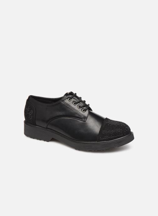 Chaussures à lacets Initiale Paris Reuni Noir vue détail/paire