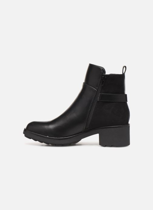 Ankle boots Initiale Paris Revee Black front view