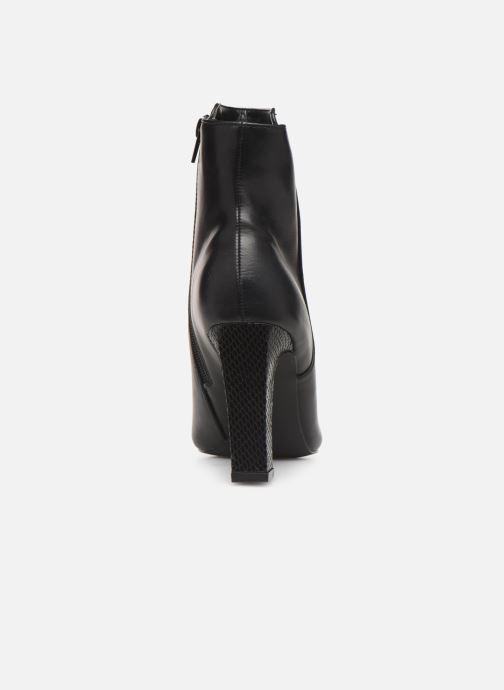 Boots en enkellaarsjes Initiale Paris Revoi Zwart rechts