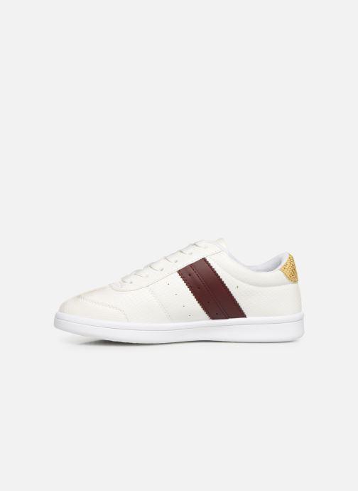 Sneaker Initiale Paris Rufina weiß ansicht von vorne