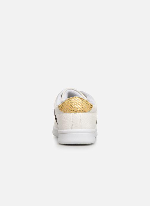 Sneaker Initiale Paris Rufina weiß ansicht von rechts