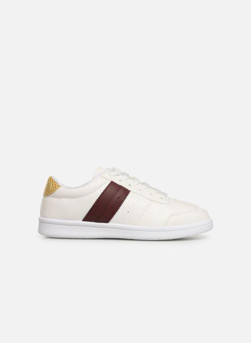 Sneaker Initiale Paris Rufina weiß ansicht von hinten
