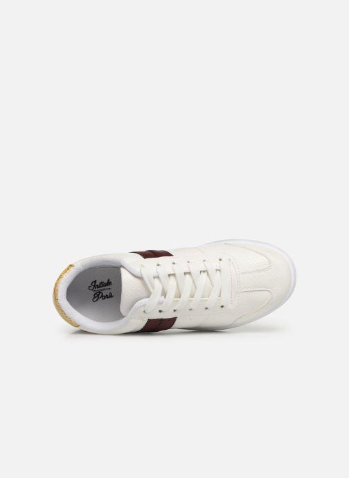 Sneaker Initiale Paris Rufina weiß ansicht von links