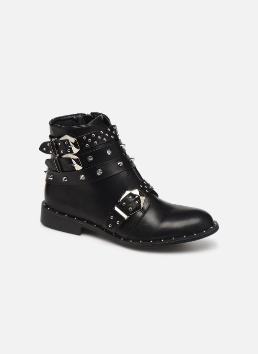 Ankelstøvler Initiale Paris Sakela Sort detaljeret billede af skoene