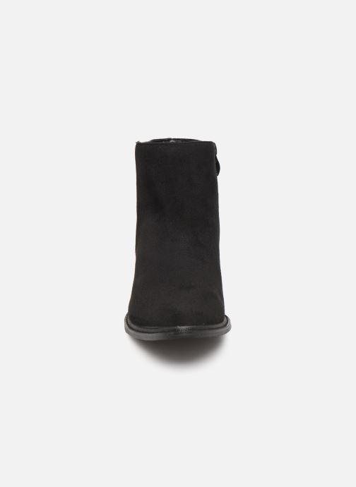 Bottines et boots Initiale Paris Salaka Noir vue portées chaussures