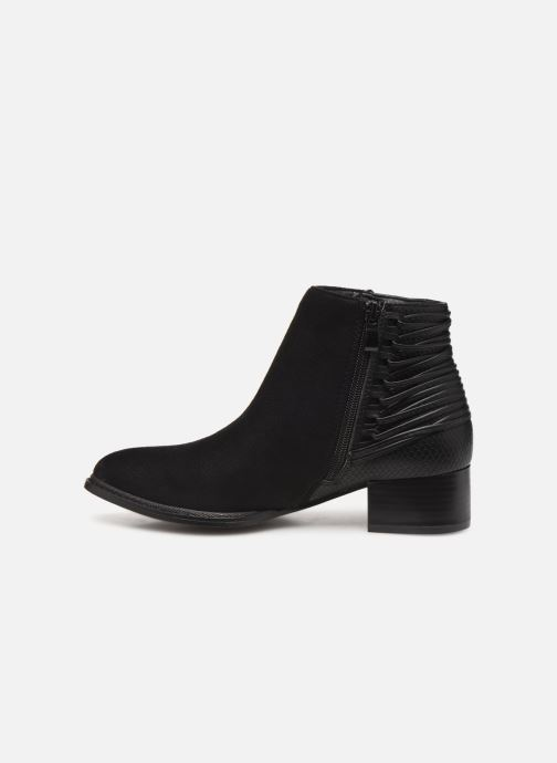 Ankle boots Initiale Paris Salaka Black front view