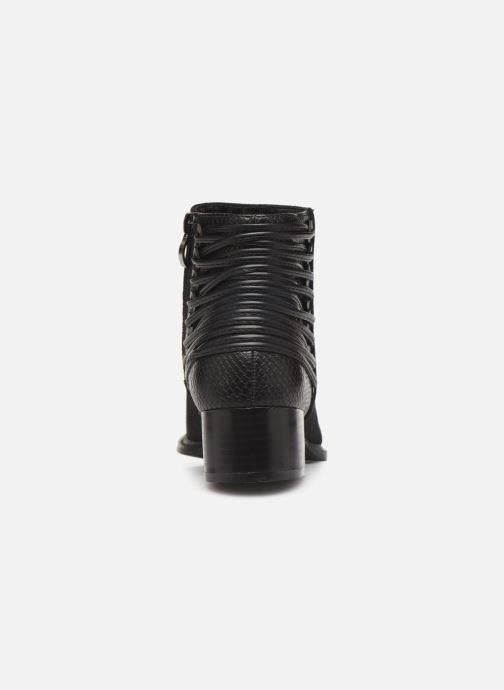 Ankle boots Initiale Paris Salaka Black view from the right