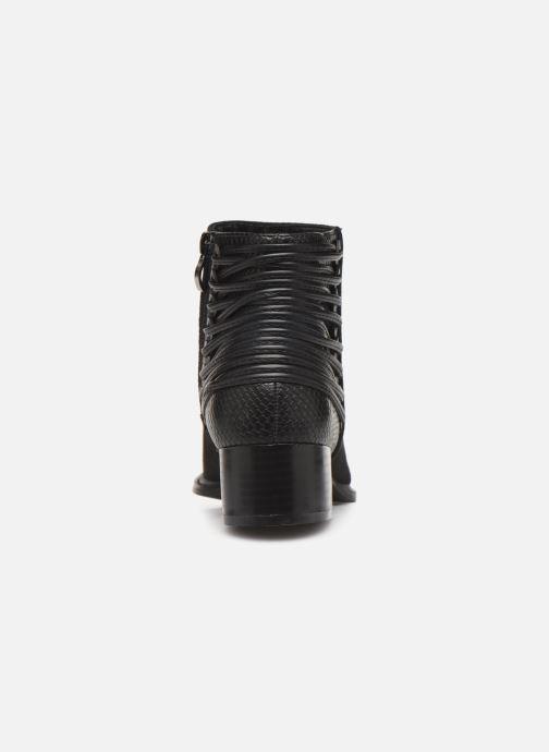 Bottines et boots Initiale Paris Salaka Noir vue droite