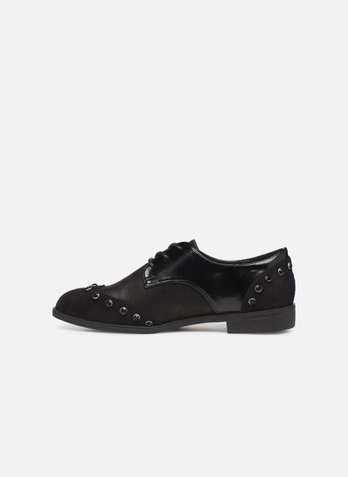 Chaussures à lacets Initiale Paris Saltine Noir vue face