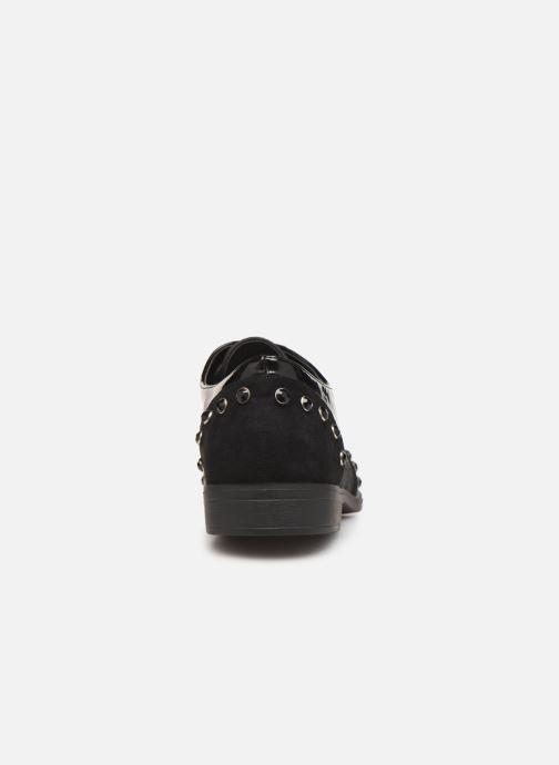 Chaussures à lacets Initiale Paris Saltine Noir vue droite