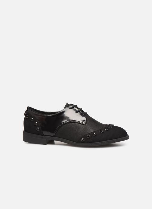 Lace-up shoes Initiale Paris Saltine Black back view
