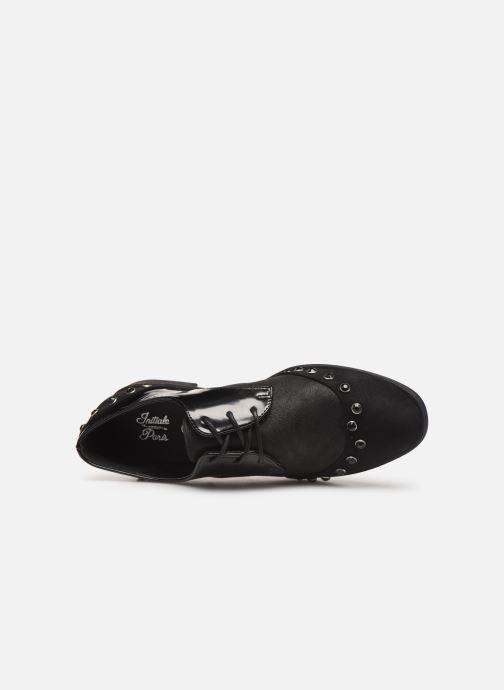 Chaussures à lacets Initiale Paris Saltine Noir vue gauche