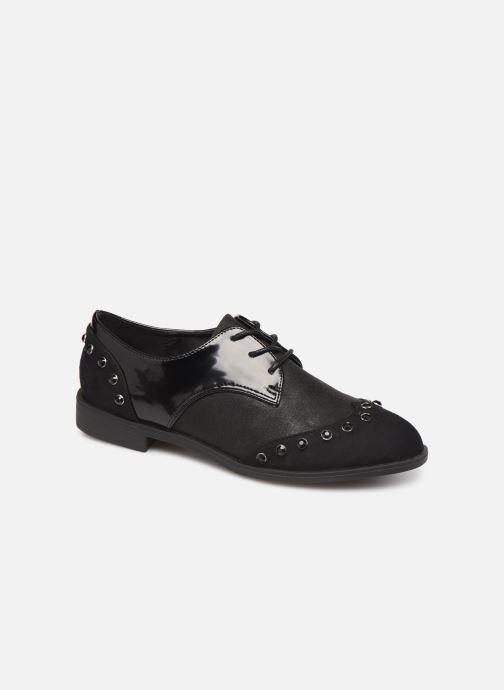 Lace-up shoes Initiale Paris Saltine Black detailed view/ Pair view