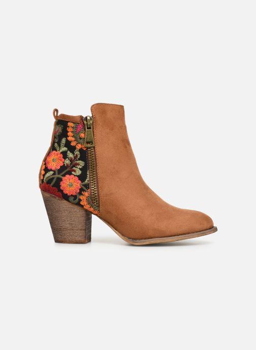Ankle boots Initiale Paris Salto Brown back view