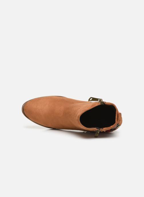 Stiefeletten & Boots Initiale Paris Salto braun ansicht von links