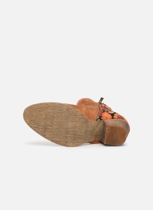 Stiefeletten & Boots Initiale Paris Salto braun ansicht von oben
