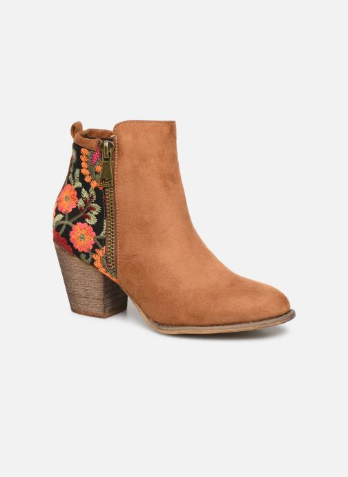 Stiefeletten & Boots Initiale Paris Salto braun detaillierte ansicht/modell