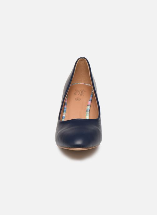 Escarpins Initiale Paris Scherine Bleu vue portées chaussures
