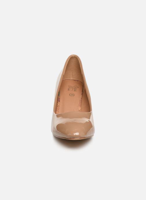 Escarpins Initiale Paris Scherine Beige vue portées chaussures
