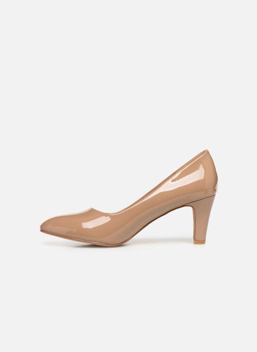 High heels Initiale Paris Scherine Beige front view