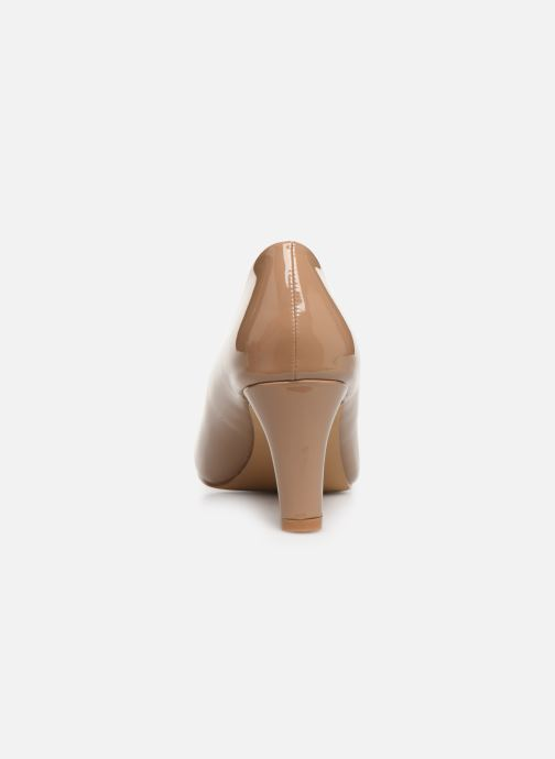 High heels Initiale Paris Scherine Beige view from the right