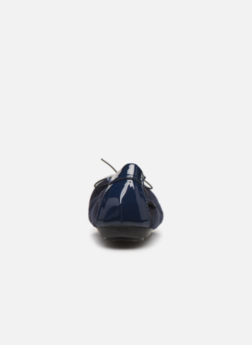 Ballet pumps Initiale Paris Shijeki Blue view from the right