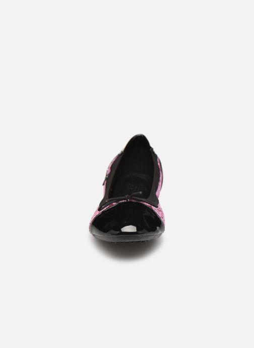 Ballerines Initiale Paris Shijeki Rose vue portées chaussures