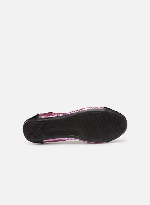 Ballet pumps Initiale Paris Shijeki Pink view from above