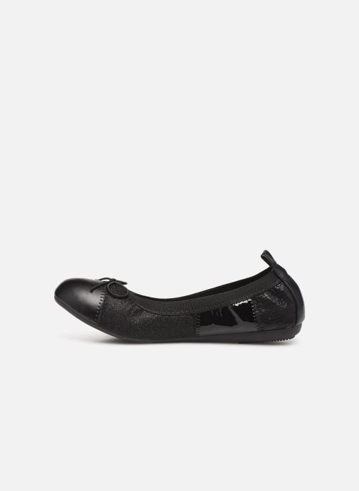 Ballet pumps Initiale Paris Stars Black front view