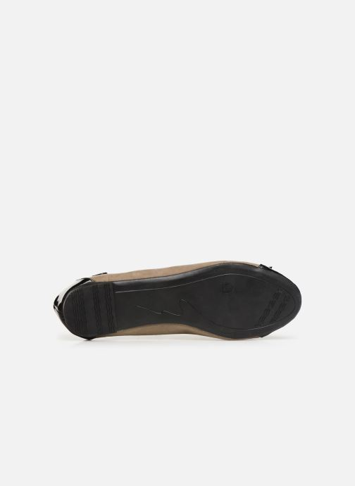 Ballet pumps Initiale Paris Success Beige view from above