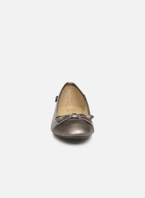 Ballerines Initiale Paris Success Gris vue portées chaussures