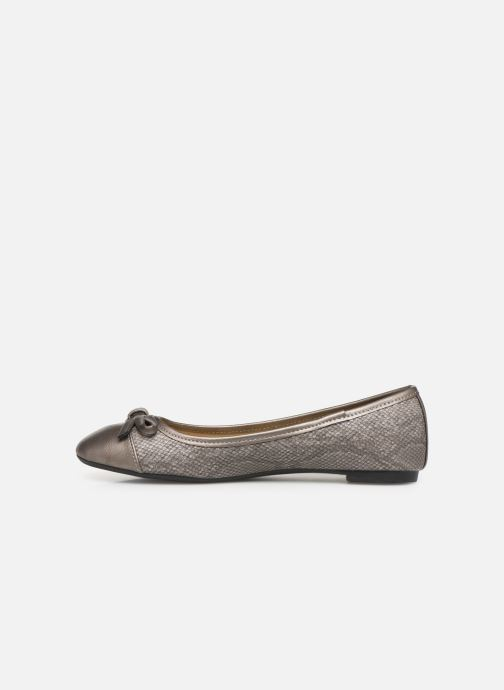 Ballerines Initiale Paris Success Gris vue face