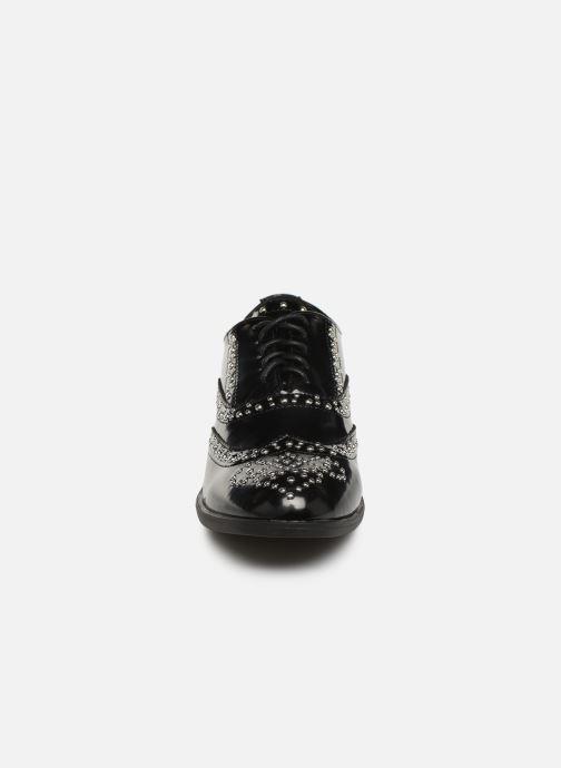 Scarpe con lacci Initiale Paris Tauzin Nero modello indossato