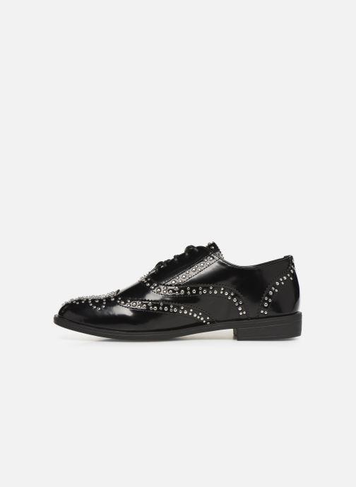 Chaussures à lacets Initiale Paris Tauzin Noir vue face