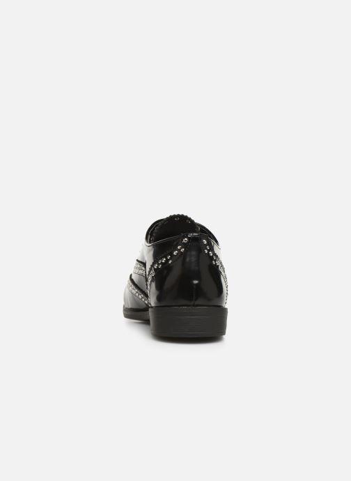 Chaussures à lacets Initiale Paris Tauzin Noir vue droite