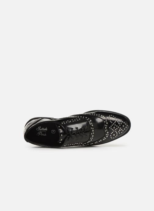 Chaussures à lacets Initiale Paris Tauzin Noir vue gauche