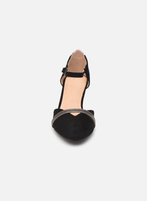 Escarpins Initiale Paris Tiaga Noir vue portées chaussures